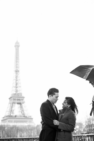 Eiffel Tower couple photoshoot