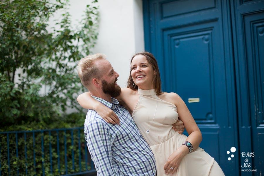 Séance photo en amoureux à Paris