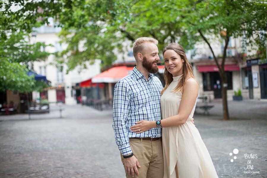 Photos de couple à Paris