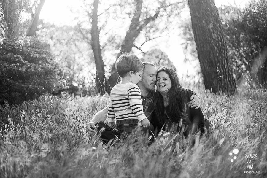 Shooting famille en pleine nature - Vallée de Chevreuse