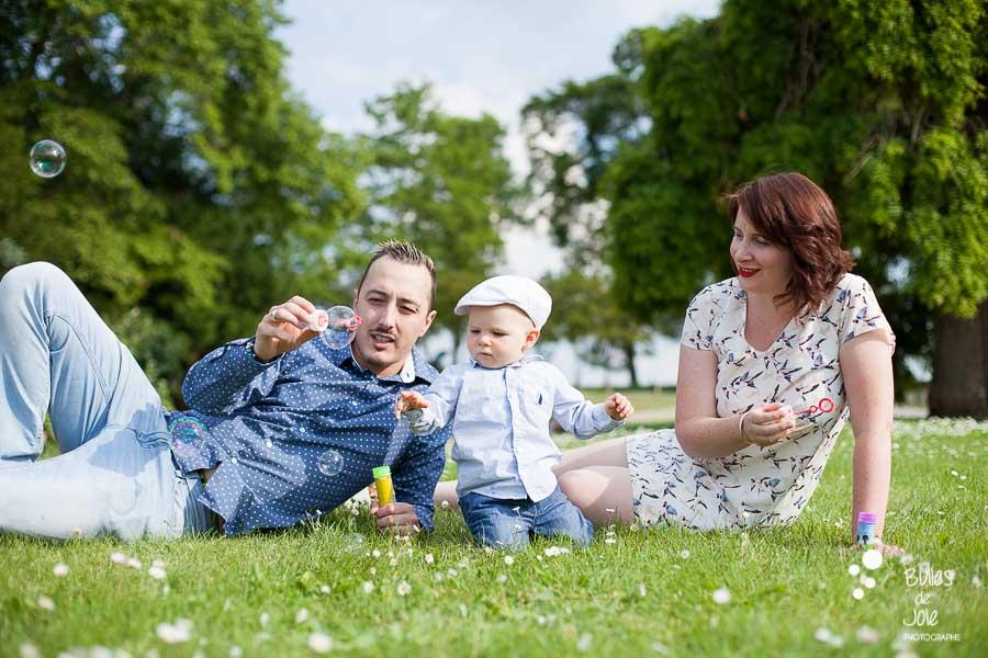 Séance photo famille Conflans Ste Honorine - Parc du Prieuré