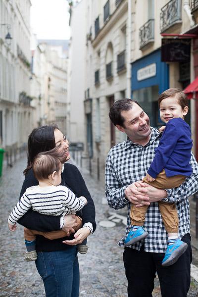 Photos de famille Paris proche jardin du Luxembourg
