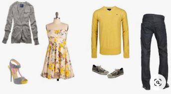 S'habiller pour un shooting photo en extérieur - Tenues avec du jaune