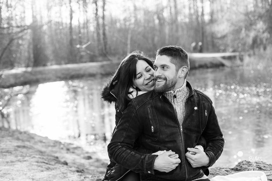 Couple d'amoureux | Séance photo couple en extérieur Paris