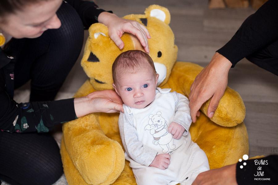 Shooting bébé 1 mois, Sceaux - Photographe bébé 92