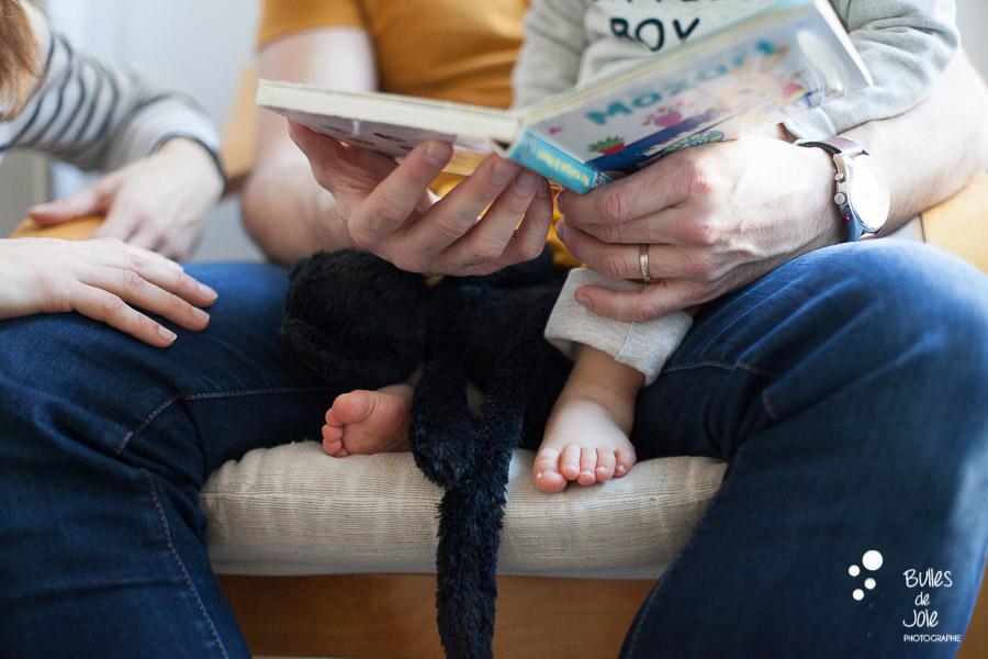 Séance photo bébé Paris - Bulles de Joie Photographe enfants et familles