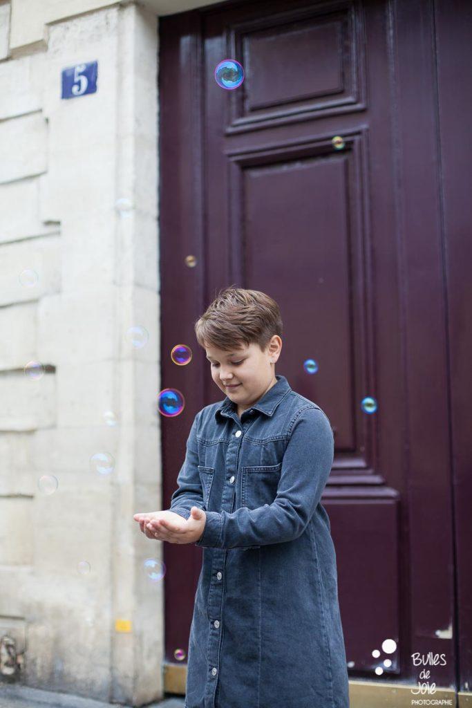 Shooting en famille Paris