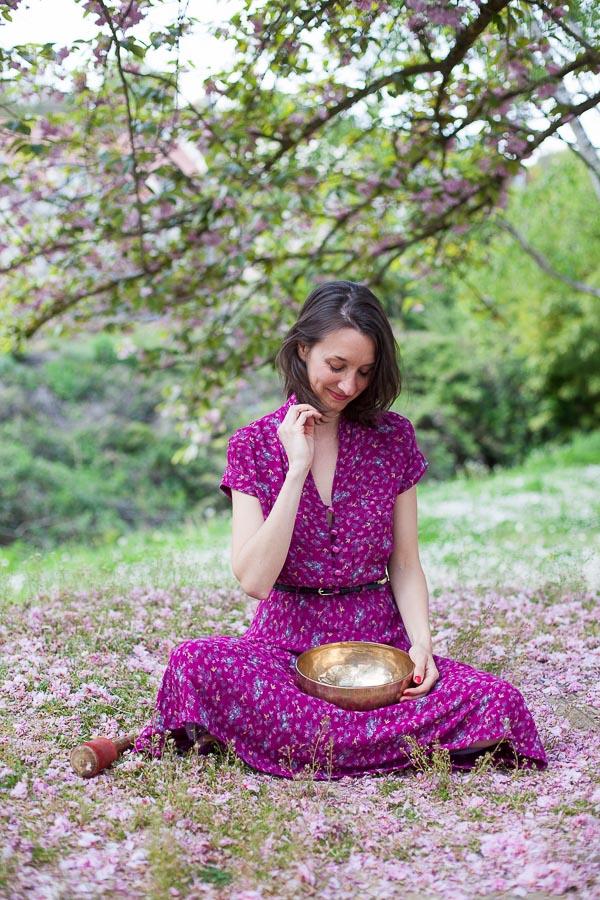 Portrait professionnel femme en extérieur